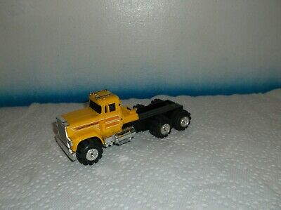 Vintage 1980'S Schaper Stomper Yellow Construction Mack Semi Cab Runs Great