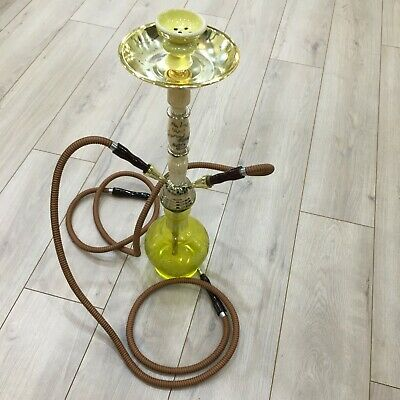 Glass Hookah Signed By Sublime-Qball & Joseph Israel Of  Smashmouth, Bad Brains