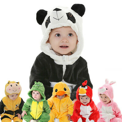 Children Fancy Dress Cartoon Animal Shape Toddler Hoodie Kids Boys Girls Outfit