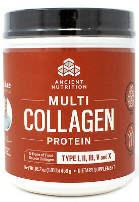 Dr. Axe Ancient Nutrition Multi Collagen Protein Powder 1.01lb(459g) - Free Ship
