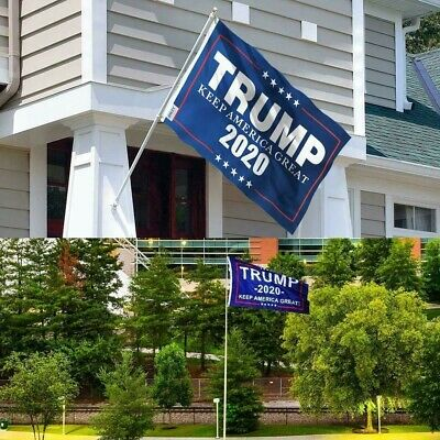 Trump 2020 Election Flag 3x5 Ft Keep America Great Donald President USA banner