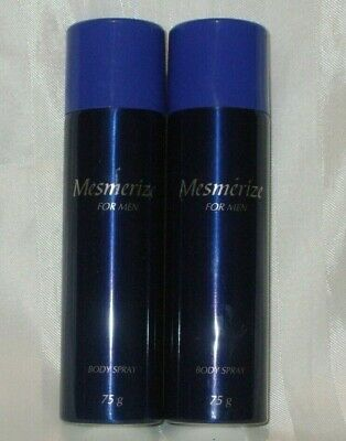 Avon Mesmerize Body Spray X 2