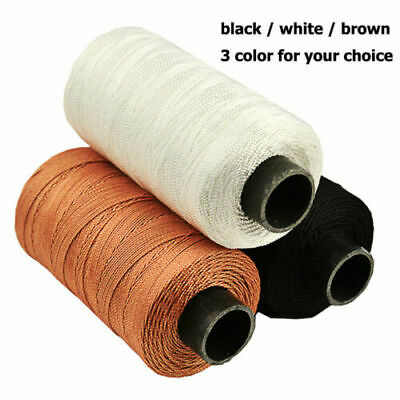 Strong Bounded Nylon Leather Sewing Waxed Thread for Craft Repair Shoes NEW