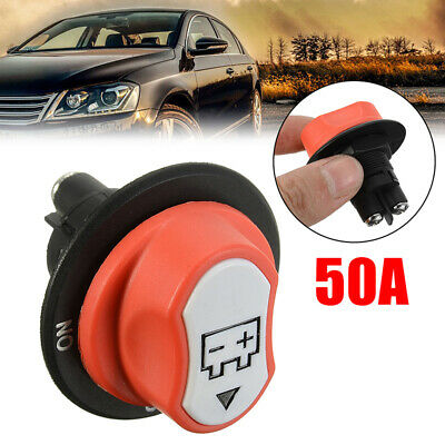 12-24V 50A Battery Isolator Disconnect Cut Off Power Kill Switch Car Truck Boat