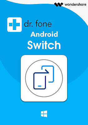 Dr.Fone Switch iOS & Android WIN dt.Vollver. Lifetime Download nur 36,99 !