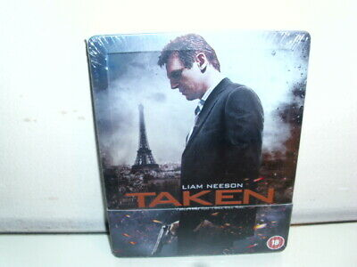 Taken 1 - Io Vi Trovero' Steelbook Zavvi Italiano English - Import Uk New Sealed