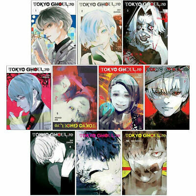 Tokyo Ghoul Revised Edition Volume 1-10 Collection 10 Books Set Pack Series 1-10