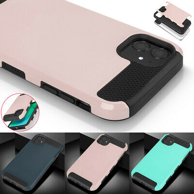For Apple iPhone 11 Pro Max Case Hybrid Rubber Shockproof Heavy Duty Hard Cover