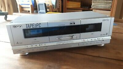 ION TAPE2PC USB Cassette Archiver Deck convert music cassette to mp3