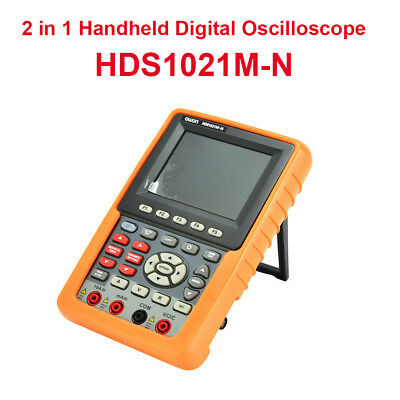 2in1 Handheld 20MHz Digital Oscilloscope SCPI DSO+Multimeter FFT Circuit Testing