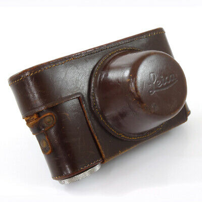 Leica I, II, III Leather Case and Strap | Excellent Condition | UK Camera Dealer
