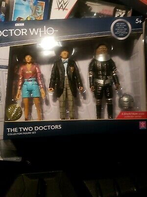BBC DOCTOR WHO - The Two Doctors Collector Figure Set.