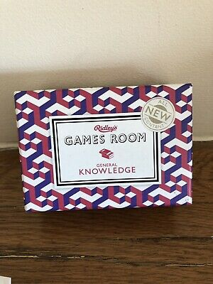 Ridleys General Knowledge Game Wedding table Party Christmas