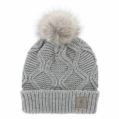 Liverpool FC Junior Cable Knit Hat LFC Official