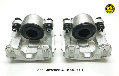 Jeep Cherokee XJ 2 X Front Brake Calipers Right & Left  1990-2001