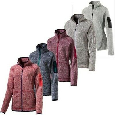 McKinley Damen Wander Trekking Outdoor Midlayer Fleece Strickjacke Jacke Skeena