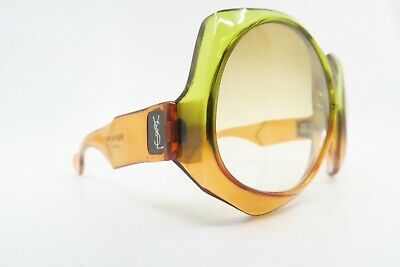 Vintage 60s Yves Saint Laurent sunglasses made in France Mod 407 gradient tinted
