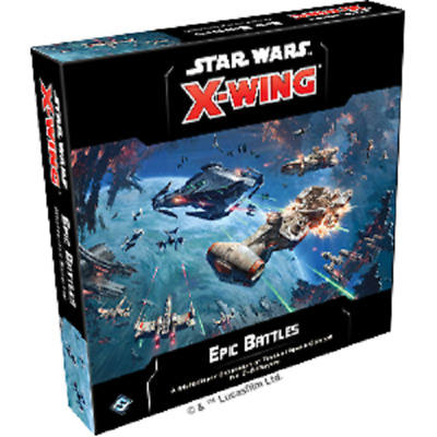 Star Wars X-Wing 2nd Edition: PRESALE Epic Battles Multiplayer expansion New