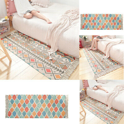 Large Modern Tassel Colour Bath Clearance Geometric Area Cheap Low Cost Rug Sale