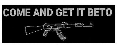 2A Just The Tip vinyl decal 2nd Amendment Rights NRA AR15 M4 M16 5.56 .223