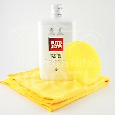 Autoglym Super Resin Polish 1000ml with Microfibre and Applicator FREE UK P&P