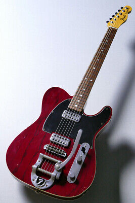 Fender Custom Shop MBS 1967 Telecaster Relic by Stephen Stern Wine Red, s9131