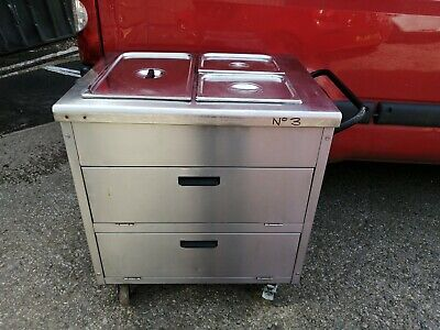 No3 Victor  Amb2 Hot Cupboard  Bain Marie And Cooler Box 960Mm X 650Mm X 930Mm