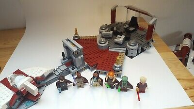 Lego 9526 Star Wars  Palpatine´s Arrest 99,9% complete, with all the minifigures