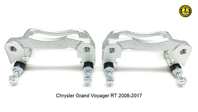 Chrysler Grand Voyager RT 2 x Rear Brake Caliper Bracket 2008-2017
