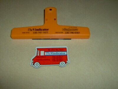 Youngstown Ohio Youngstown Vindicator Magnetic Clip & Magnetic Truck Advertising