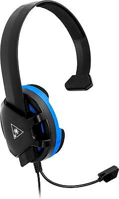 Turtle Beach - Recon Chat Wired Mono Gaming Headset for PS4, PS4 Pro - Black/...