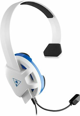 Turtle Beach - Recon Chat Wired Mono Gaming Headset for PS4, PS4 Pro - White/...