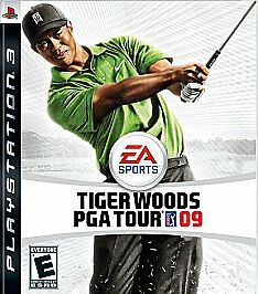 Tiger Woods PGA Tour 09 ( PlayStation 3, 2008) COMPLETE GOLF FAST SHIPPING PS3