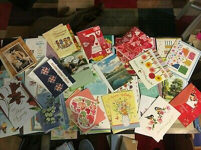 Lot Of Never Used Greeting Cards And Envelopes