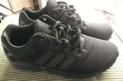 ADIDAS TRAINERS BLACK Size 9 - £6.60