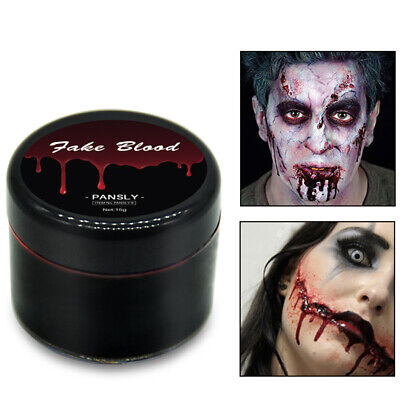 Fj- 15ml Falso Vampiro Sangue Halloween Party Cosplay Trucco Scherzo Gioco Candy
