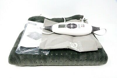 Pure Enrichment PureRelief XXL Ultra Wide Microplush Heating Pad (Gray)