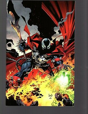 Spawn #300 McFarlane She Spawn Capullo Virgin Image NM Read descript 4 $100 book