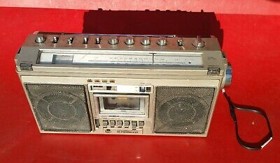 Vintage Pioneer SK-21 Boombox FM/AM Radio /Cassette Deck Portable Stereo