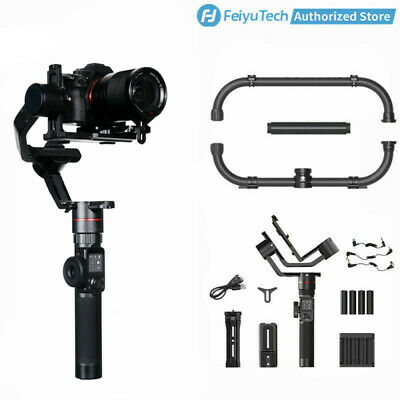 Feiyu AK2000 3-Axis Handheld Gimbal Stabilizer&Dual Handle Grip for DSLR Cameras