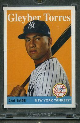 2019 Topps Archives Baseball 1/1 Blank Back. Gleyber Torres YANKEES