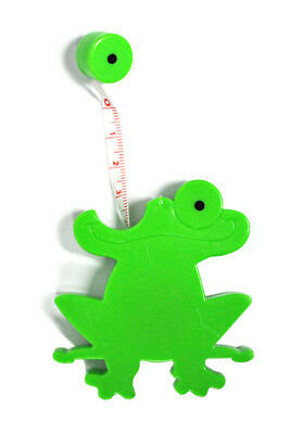 Jumpy Frog Tape Measure Green