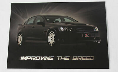 HDT VL VE Group A Plus Pack Advertising Card Holden SS Commodore Peter Brock