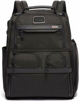 Tumi Alpha 3 Compact Laptop Brief Pack - 15 Inch Computer Backpack - Black