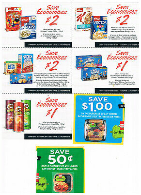 Candian Grocery Coupons 25 coupons $35.00 value