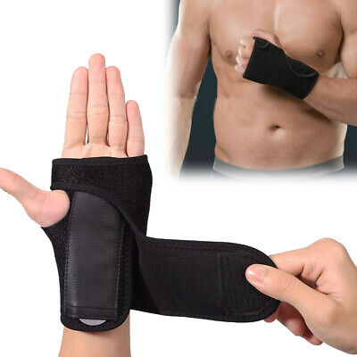 US Hand Wrist Brace Support Removable Splint Relieve For Carpal Tunnel Syndrome