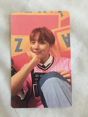 Official J-hope Hoseok Photocard from BTS Love Yourself Her E Version