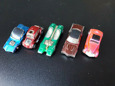 Vintage lot of 5 Hot Wheels Redline Lot Junk Yard parts
