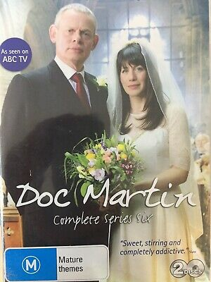 DOC MARTIN - Season 6 2 x DVD Set AS NEW! Complete Sixth Series Six