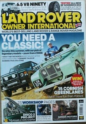 Land Rover Owner LRO # July 2015 - Cornish lanes - Classic landrovers